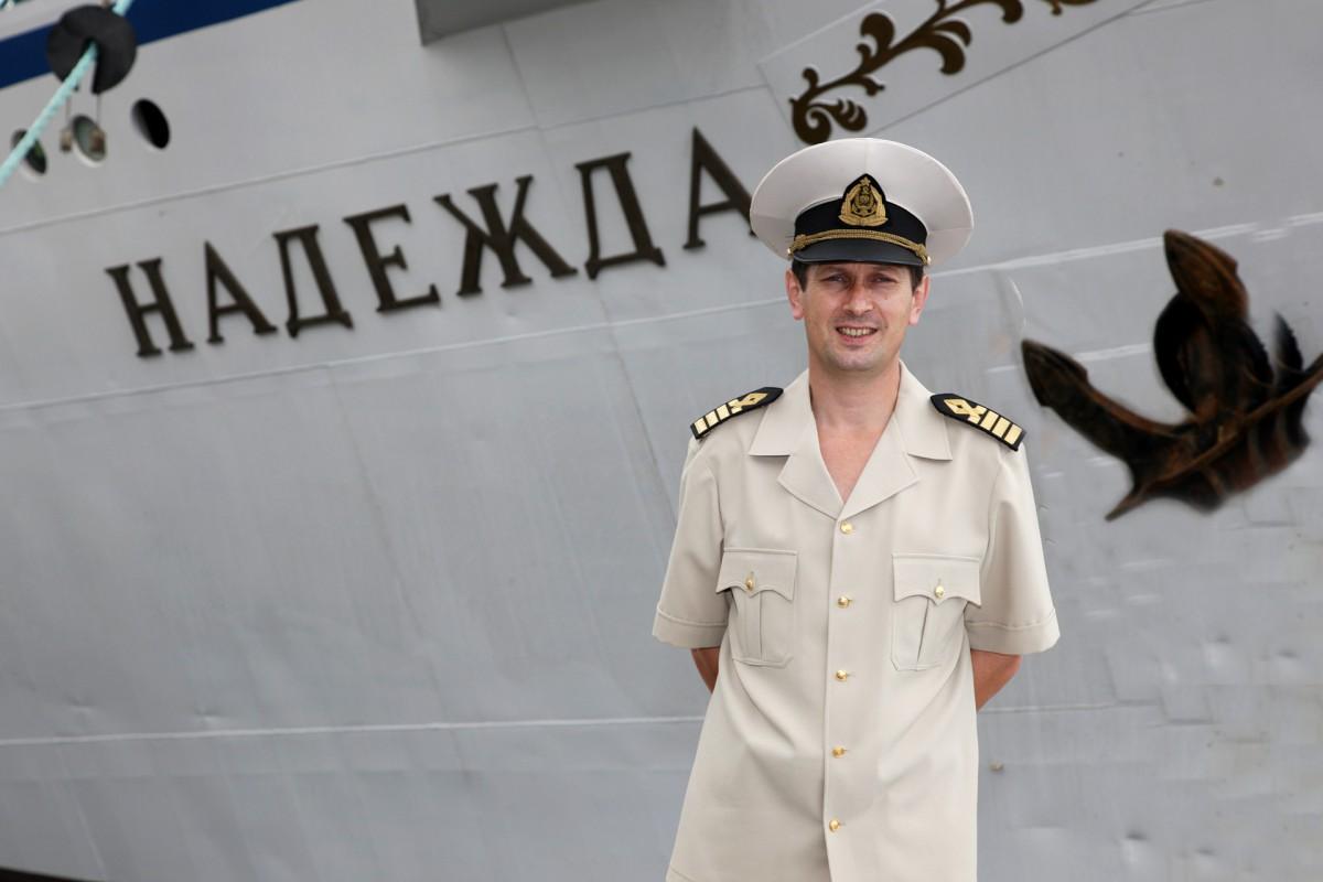 фото капитана торгового флота запуск