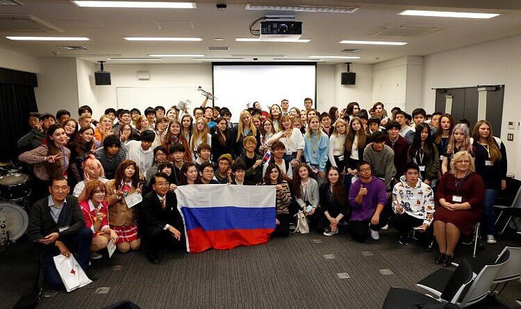 Lyceum students visit Japan