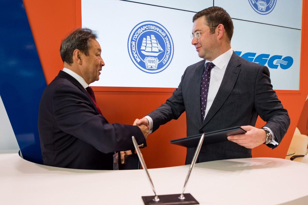 FESCO and the Maritime University signed an agreement on strategic partnership